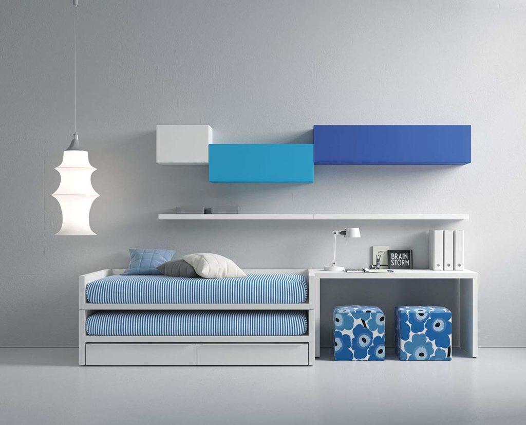 zb interiorismo dormitorios juveniles 41 | dormitorio pequeño