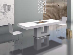 zb interiorismo mesas foto estilo minimalista